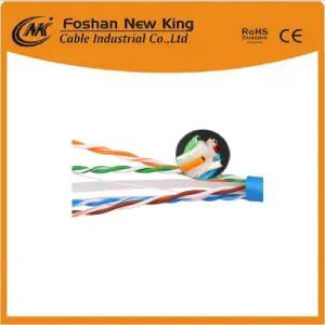 UTP FTP computer CAT6 LAN Cable Network كبل خارجي مع نحاس نقي