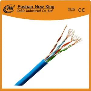 مصنع 4X2X0.5mm Bc Cat5e LAN Cable أو Network Cable Pass Fluke Tia Channel Test